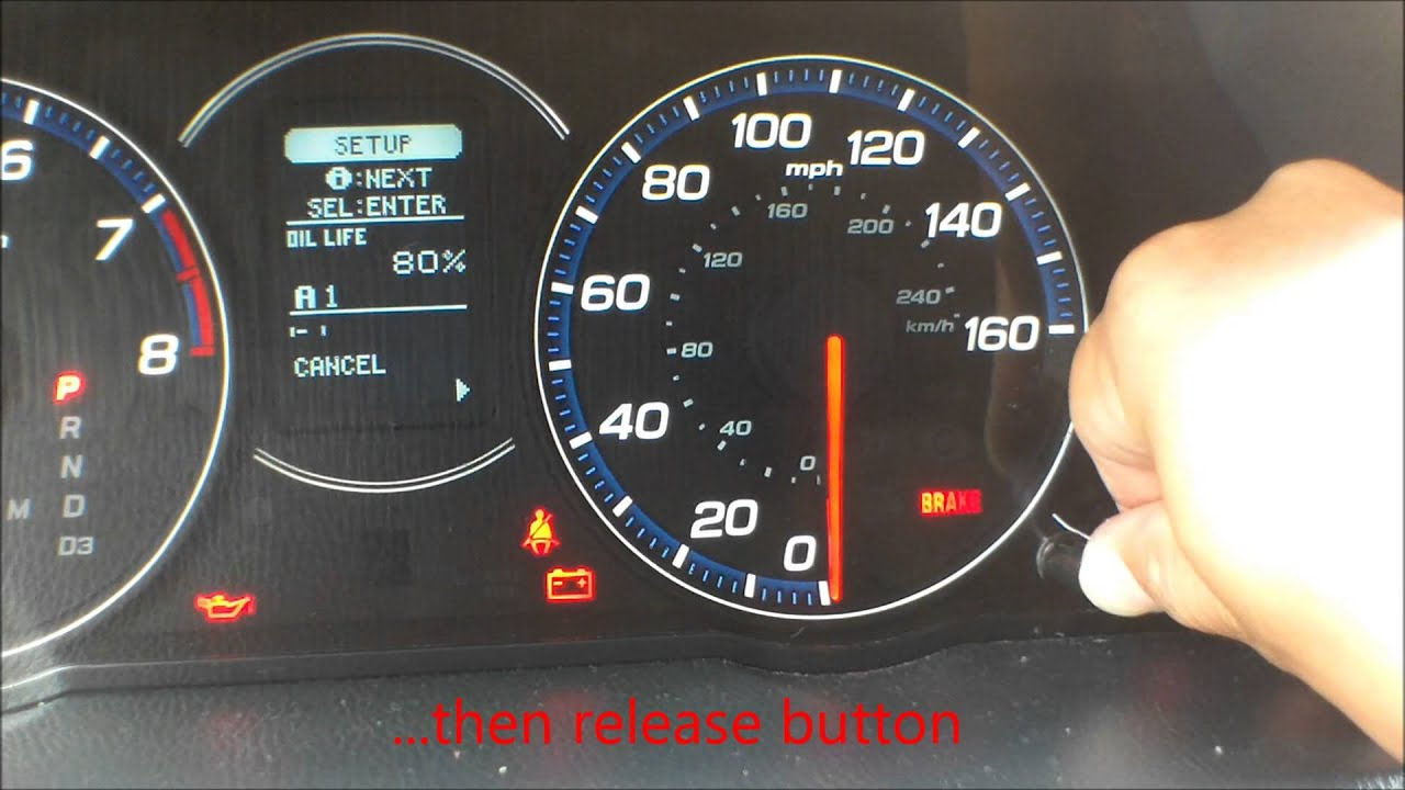 2005 Acura Mdx Warning Lights