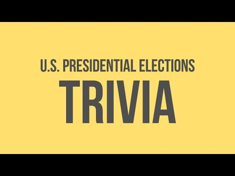 US Presidential Elections: Fun Facts
