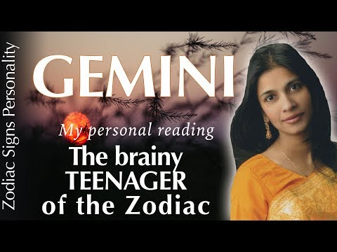 GEMINI Zodiac Sign : Personality, Love, Life Mission, Health, Career, Psychology