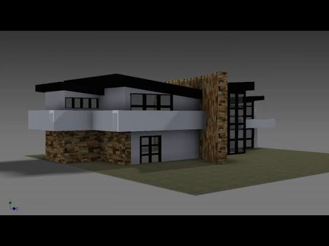 Autodesk Inventor: Modern House Build