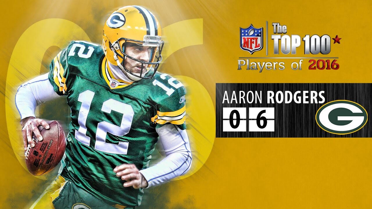 06 Aaron Rodgers QB Packers