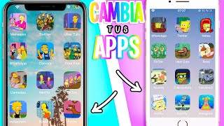 Cambia Los Iconos De Las Apps En Tu Celular Android Y Iphone Tutoriales Belen Youtube