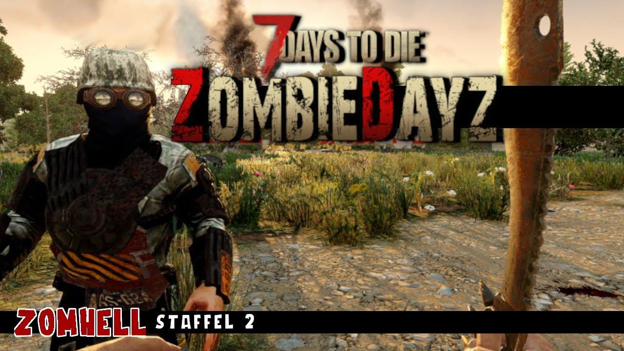 7 Days To Die ZombieDayZ Mod |  S02 F02 | Questeskapaden