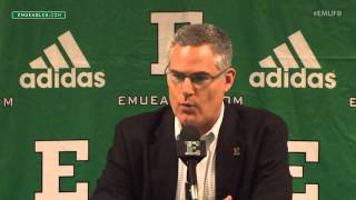 EMU Football Weekly Press Conference - Oct. 26, 2015