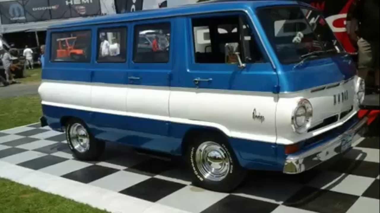 DODGE A100 VAN @2014 CARLISLE | PACK FORUMS - YouTube