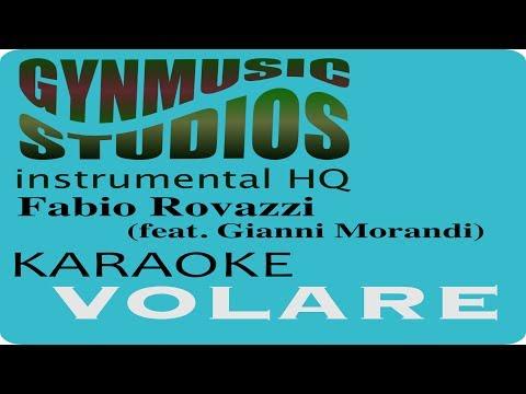 Fabio Rovazzi ft. Gianni Morandi: VOLARE (Karaoke - Instrumental ) by Gynmusic Studios HQ