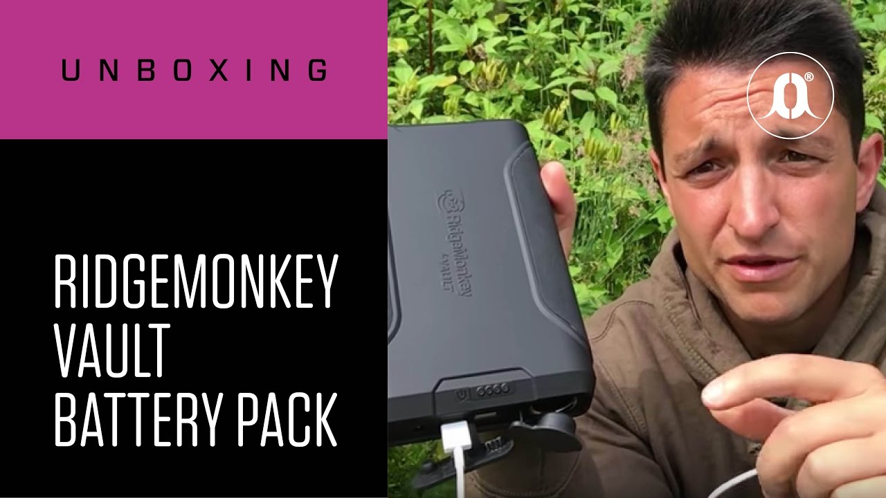 Carp Fishing New Ridgemonkey Ridge Monkey Vault 16W USB Solar Panel Charger