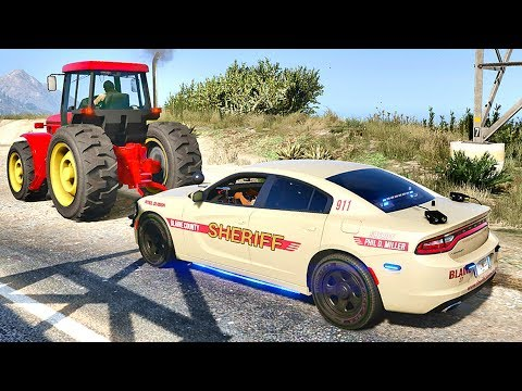 GTA 5 MODS LSPDFR 771 - CHARGER PATROL !!! (GTA 5 REAL LIFE PC MOD)
