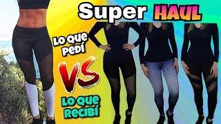 HAUL | Ropa Deportiva | Leggins Chinos OMG | Maquillaje y mas | NatyGloss