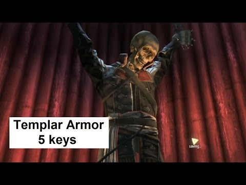 AC4 Templar Armor for Edward Kenway. Templar Hunt for the keys. Assassin's Creed 4 Black Flag