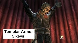 ac4 templar armor for edward kenway templar hunt for the keys assassin s creed 4 black flag