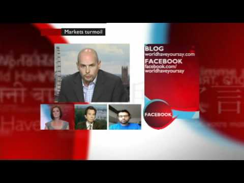 BBC World Have Your Say TV: Global market turmoil & Syrian protests