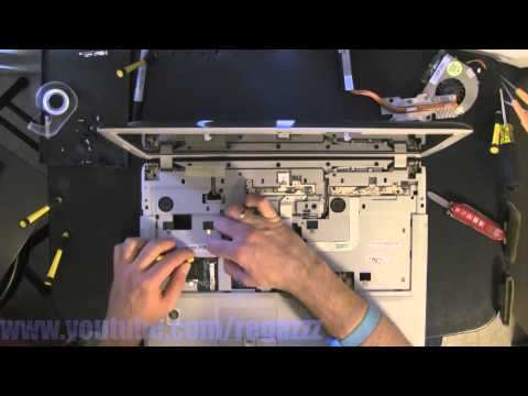 ACER 7720 take apart video, disassemble, how to open disassembly