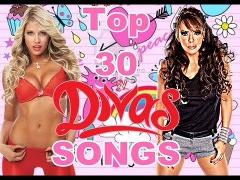 Top 30 WWE Divas Theme Songs Of All Time ( Titantron )