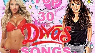 Top 30 WWE Divas Theme Songs of all time ( titantron )