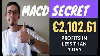 MACD Strategy LIVE €2,102 61 PROFITS (JOIN ME)🎓💲