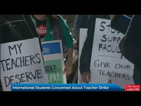 Latest news: Ontario college teachers strike causes uncertainty amongst international students