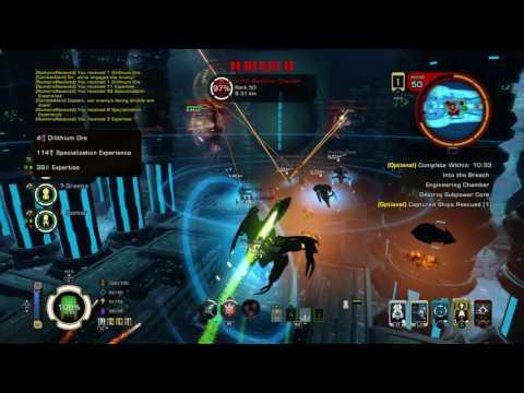 Star Trek Online (PS4)  Orion Slave Girl Rubbing Up Against The Breach