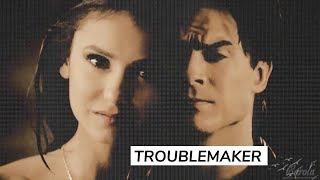 ► why does it feel so good but hurt so bad? // Damon + Katherine