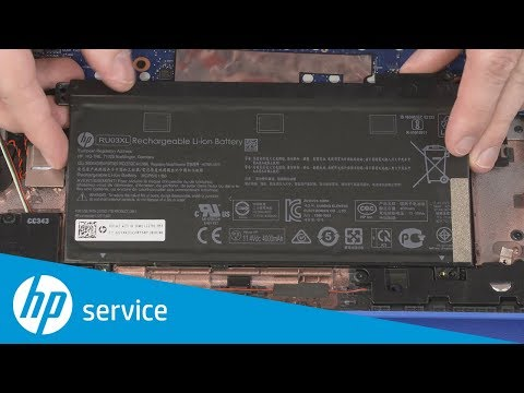 Replace the Battery   HP ProBook x360 11 G3 EE Notebook PC   HP