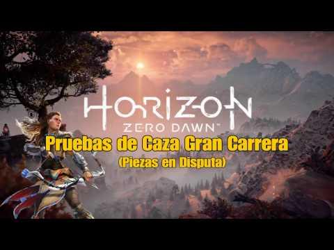 Horizon Zero Dawn #31: Pruebas de Caza Gran Carrera (Piezas en Disputa) [PS4]