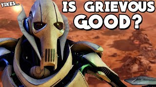 Star Wars Battlefront 2 - Is General Grievous a Good Hero? Clone Wars DLC Gameplay!