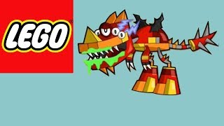 How to build LEGO Mixels  - Mixeloptor - Stop Motion Build