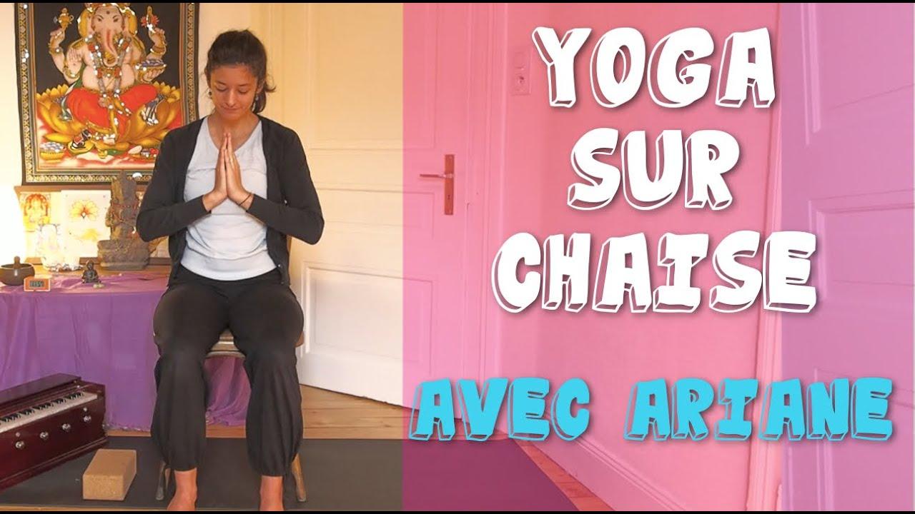 yoga sur chaise avec ariane mobilit r duite youtube. Black Bedroom Furniture Sets. Home Design Ideas