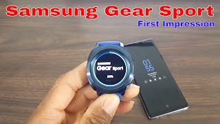 Samsung Gear Sport Unboxing Review And First Impressions