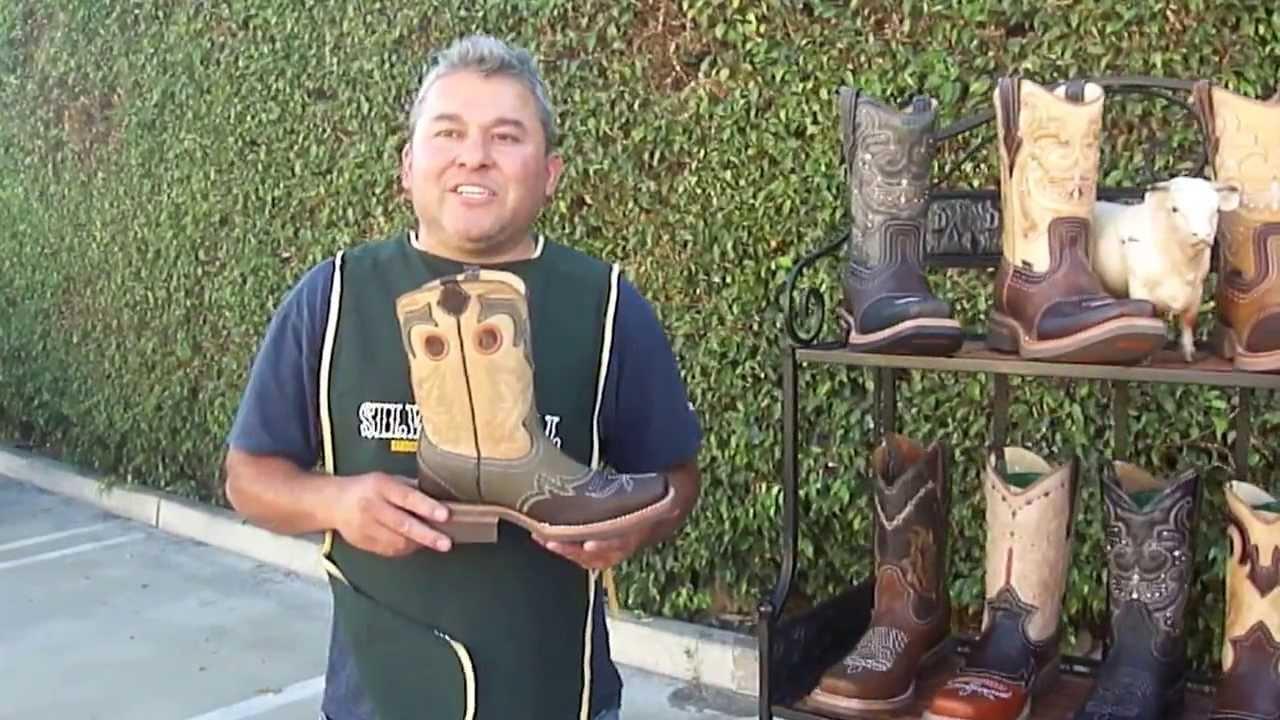 Botas rodeo silver bull botas de trabajo botas - Botas de trabajo ...