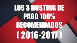 los mejores hosting de pago