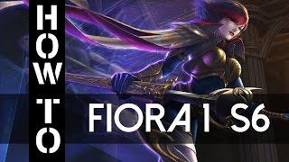 Fiora Guide German Season 6 Gameplay Deutsch Commentary Part 1