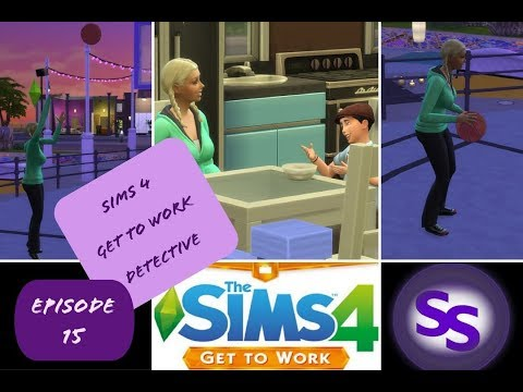 Sims 4 Get to Work - Detective - Episode 15 - DAILY STRUGGLES