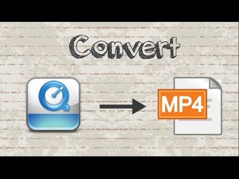 How to convert MOV file to MP4 format