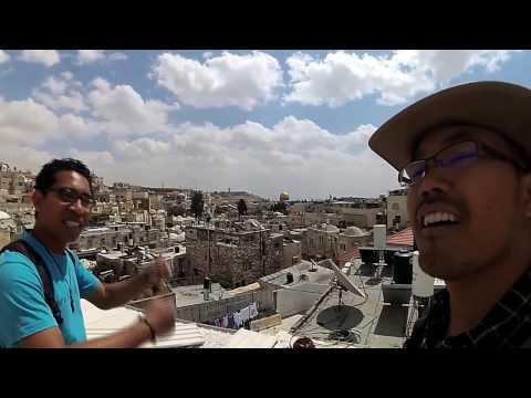 Jerusalem Rampart Walks; Jalan-jalan di Atas Tembok Kota Tua Yerusalem