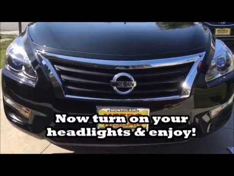 How to install hid kit on a 2015 nissan altima