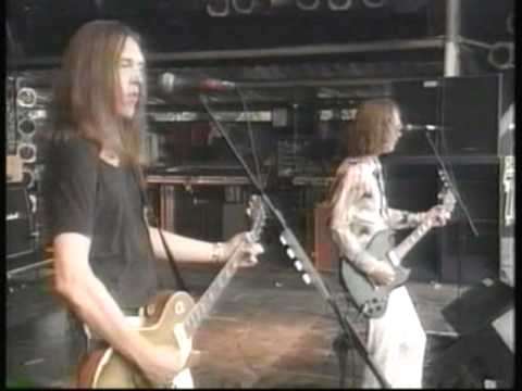 """Urge Overkill - Interview / """"Girl, You'll Be A Woman Soon"""" - Glastonbury, 1995"""