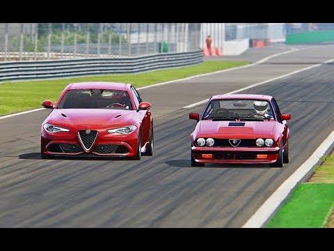 Alfa Romeo Giulia Quadrifoglio Vs Alfa Romeo Alfetta GTV6