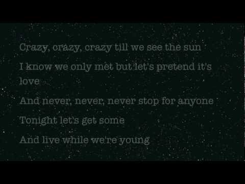 Live While We're Young - One Direction LYRICS - YouTube