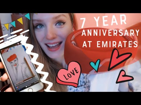 Celebrating a 7-year anniversary as Cabin Crew at Emirates !! Everything about how it was!