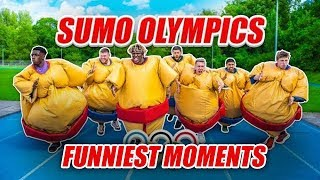 SIDEMEN SUMO OLYMPICS (FUNNY MOMENTS)