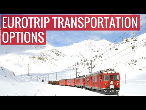 How to Travel Around Europe - Transportation Options