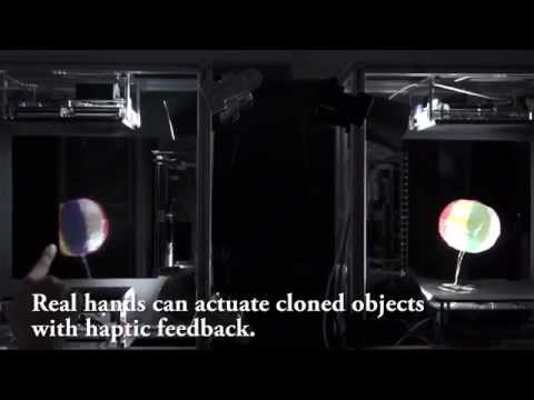 Japan Has Created Holographic Images That You Can Actually Touch