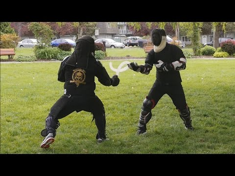 First Attempt at Sickle Fighting (with Commentary)