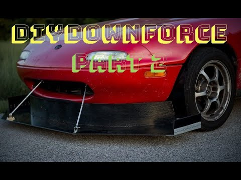 #DIYDownforce Part 2: ART CLASS or ClickBait Title: Crazy guy gives away all the downforce secrets.