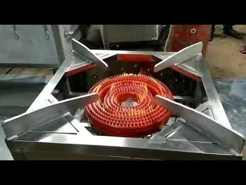 Biryani Range   Stainless Steel Bulk Cooking Stove   Flower Burner Cooking Range Manufacturers