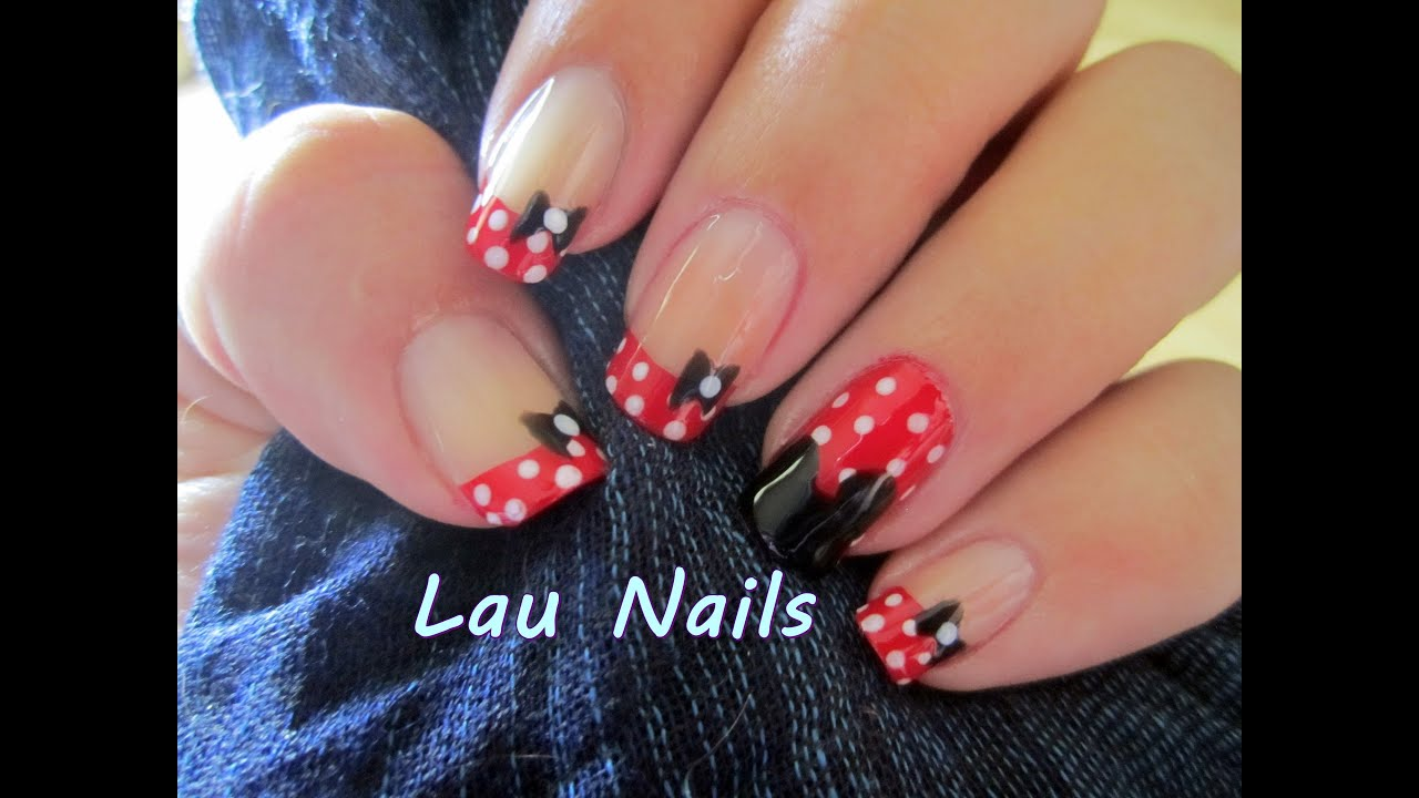 Uñas Minnie - YouTube