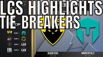 LCS Highlights ALL GAMES TIE BREAKERS Spring 2020 League of Legends Championship Series