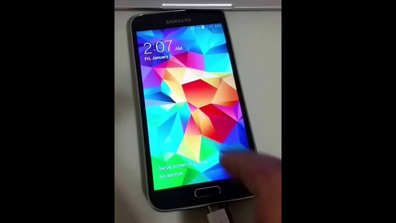 how to change voicemail on galaxy s5