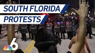 Miami Police Shift Strategy During Protests